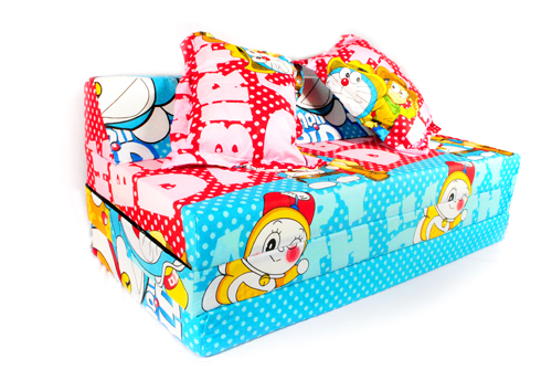 sofa bed doraemon samping