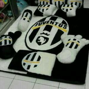 Kasur Karpet Fullset Karakter Juventus