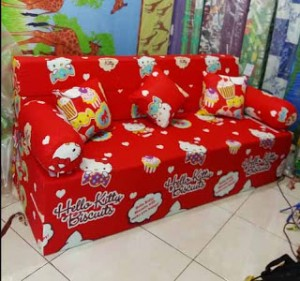 Kasur Sofabed Busa Super Hello Kitty