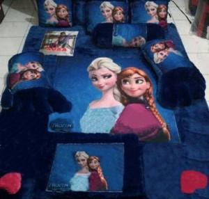 Kasur Karpet Fullset Karakter Frozen