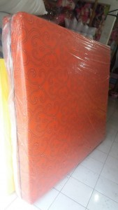 Kasur Busa Super Abstrak Orange