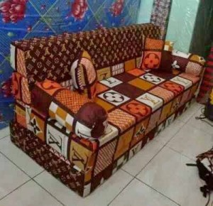 Kasur Sofa Bed Busa Super Motif Abstrak LV 140