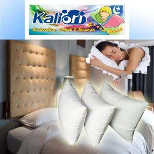 Bantal Silikon Putih Hotel Kaliori Bandung