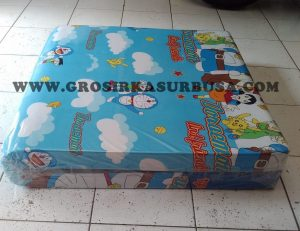 Kasur Busa Lipat Jumbo Ukuran 100x180x8 Motif Doraemon