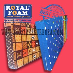 Kasur Busa Royal Ukuran 90x200x14 Motif Pilihan