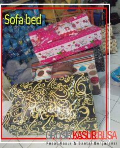 Sofa Bed Busa Biasa Ukuran 120x180x10 Motif Pilihan Keren