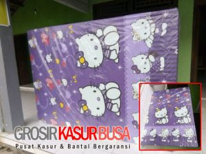 Kasur Busa Superyellow Ukuran 90x200x20 Motif Hello Kitty