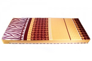 Kasur Busa Super Abstrak Coklat