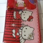 Kasur Busa Lipat Bantal Hello Kitty
