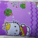 Bantal Silikon Hello Kitty Ungu