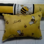 Bantal Silikon Lebah Kuning