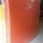 Kasur Busa Super Abstrak Orange