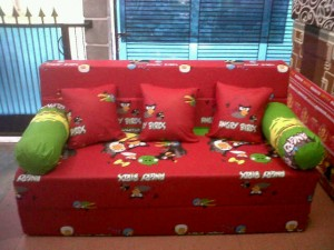 Kasur Sofabed Busa Super Angry Birds