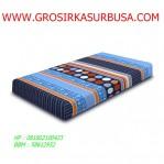 Kasur Busa Super Abstrak Biru