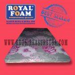 Kasur Busa Royal Single Ukuran 90x190x5 Motif Bunga