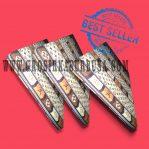 Kasur Busa Royal Ukuran 120x200x10 Motif LV Coklat