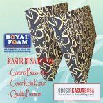 Kasur Busa Royal Ukuran 100x200x14 Motif Tralis Hitam