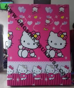 Kasur Busa Royal Ukuran 120x200x14 Motif Hello Kitty