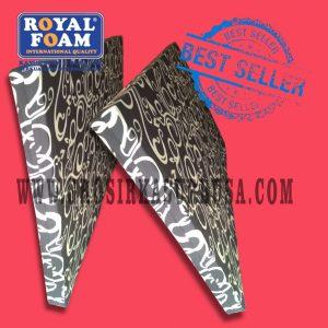 Kasur Busa Royal Ukuran 120x200x10 Motif Tralis Hitam