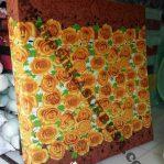 Kasur Busa Royal Ukuran 180x200x20 Motif Bunga Kuning