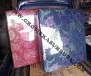Kasur Busa Lipat 2 Cover Kain Spring Bed Ukuran 90x180x10