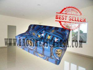 Sofa Bed Busa Biasa Ukuran 120x180x10 Motif Inter Milan