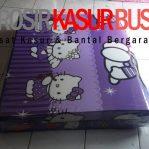 Kasur Busa Lipat Jumbo Ukuran 100x180x8 Motif Hello Kitty Ungu