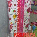 Kasur Busa Lipat Jumbo Ukuran 140x180x8 Motif Hello Kitty