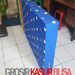 Kasur Busa Royal Ukuran 120x200x14 Motif Polkadot Biru