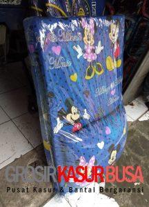 Kasur Busa Lipat Bantal Ukuran 90x180x4 Motif Mickey Mouse
