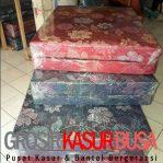 Kasur Busa Lipat 2 Cover Kain Spring Bed Ukuran 120x180x10