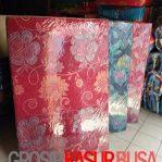 Kasur Busa Lipat 2 Cover Kain Spring Bed Ukuran 140x180x10 Warna Pilihan