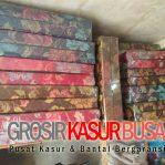 Kasur Busa Lipat 2 Cover Kain Spring Bed Ukuran 140x180x10 Pilihan