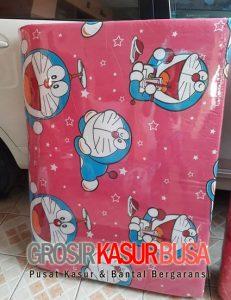 Kasur Busa Lipat Jumbo Murah Ukuran 115x180x8 Motif Doraemon