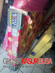 Kasur Busa Royal Pink Ukuran 120x200x20 Motif Polkadot Royal