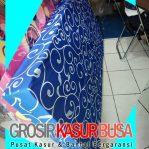Kasur Busa Royal Ukuran 100x200x14 Motif Tralis Biru