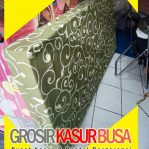 Kasur Busa Royal Ukuran 120x200x14 Motif Tralis Hijau