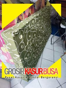 Kasur Busa Royal Ukuran 90x200x14 Motif Tralis Hijau