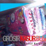 Kasur Busa Lipat Bantal Ukuran 90x180x4 Motif Doraemon