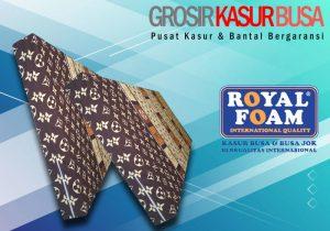 Kasur Busa Royal Ukuran 140x200x20 Motif LV