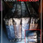 Kasur Busa Inoac Yukata Ukuran 140x190x20 Warna Biru dan Coklat