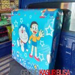 Kasur Busa Lipat Jumbo Ukuran 120x180x8 Motif Doraemon