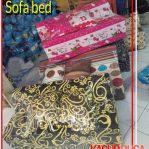 Sofa bed Murah Ukuran 120x180x10 Motif Karakter