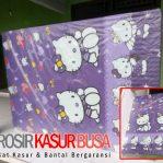 Kasur Busa Superyellow Ukuran 180x200x20 Motif Hello Kitty