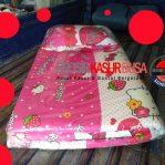 Kasur Busa Lipat Bantal Ukuran 90x180x4 Motif Hello Kitty