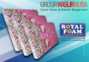 Kasur Busa Royal Ukuran 90x200x20 Motif Hello Kitty Bergaransi 10 Tahun
