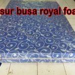 Kasur Busa Royal Foam Ukuran 120x200x14 Motif Tralis Biru