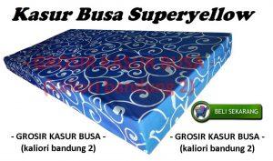 Kasur Busa Superyellow Motif Tralis Biru Ukuran 160x200x14 Bergaransi
