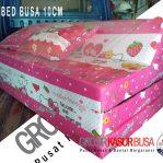 Sofa Bed Busa Biasa Tebal 10cm Hello Kitty 120x180x10