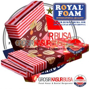 Kasur Busa Royal Pink Ukuran 90x200x15 Bergaransi 15 Tahun